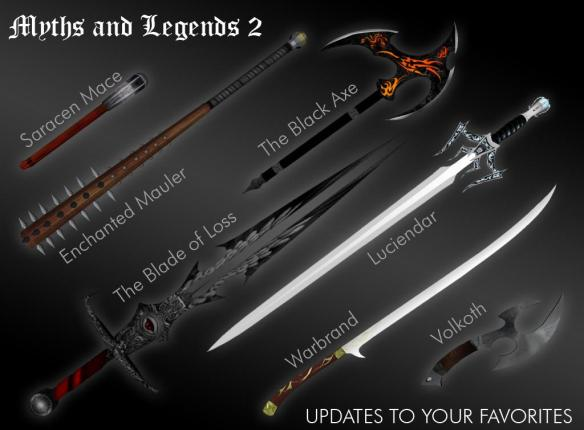 Oblivion mod: Myths and Legends 2