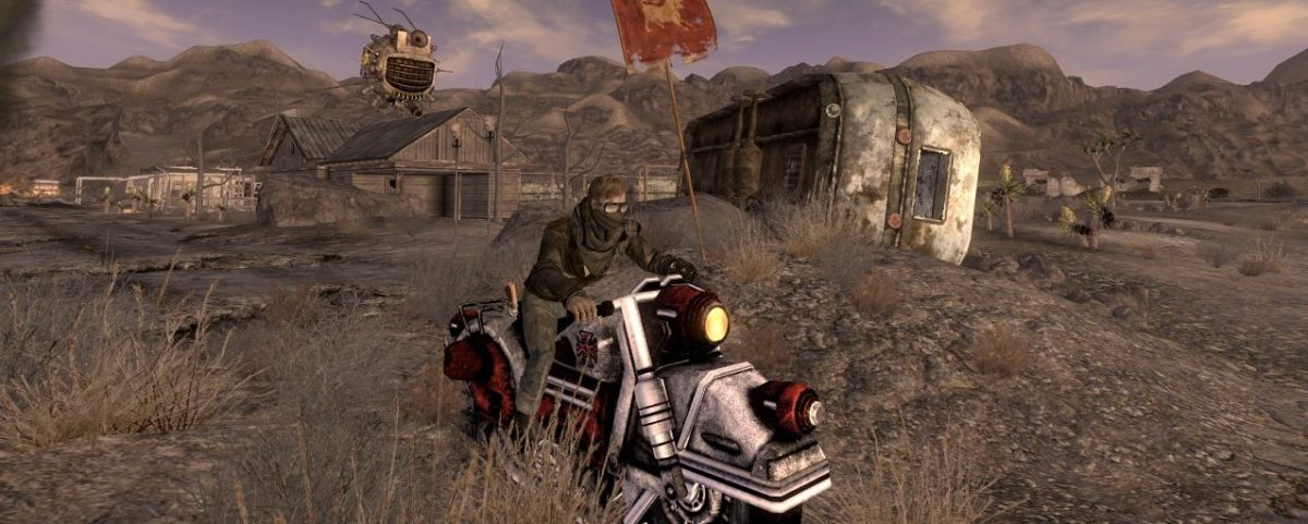 Fallout New Vegas Mod: Advanced J3X Motorcycle