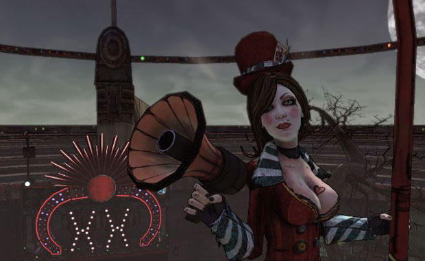 Hello! One and All! Welcome to the underdome, let's see some blood fly! - Okay, Mad Moxxi doesn't say that but it's close enough