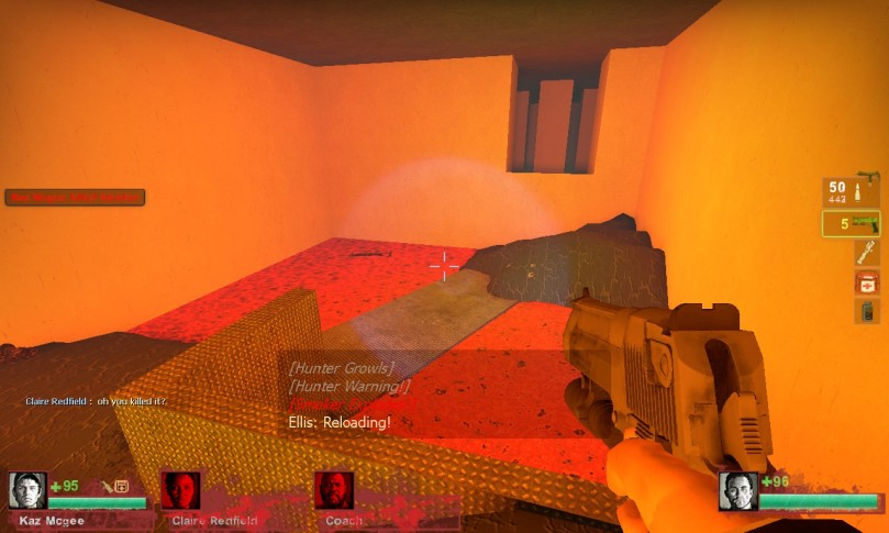 L4D2 Custom Map: Halls of Death (Impossible map is impossible