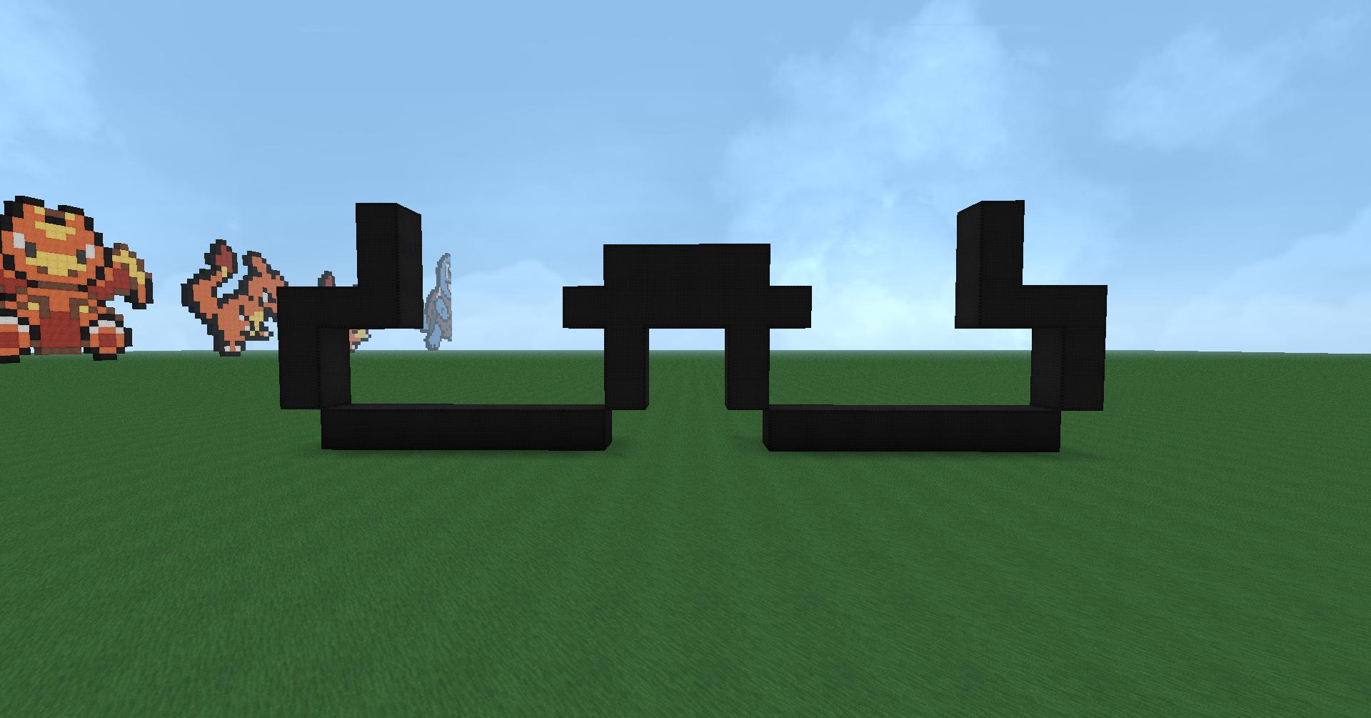 Minecraft Pixel Art: Luigi