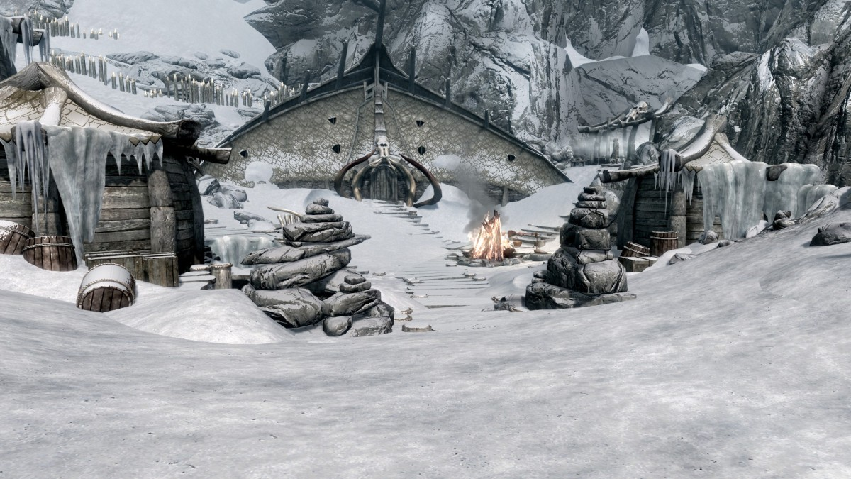 Skyrim Mod: Adal Matar the Lost Stronghold - Fight Against the Thalmor I