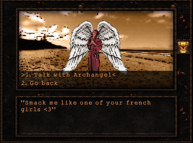 masochistic angel?! ._.
